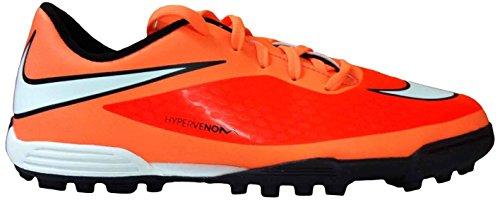 Nike Jungen JR HYPERVENOM IC Fußballschuhe (Race Schuhe) Mehrfarbig - Orange/White/Black