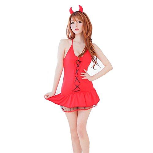 Fxwj Erotik Unterwäsche Cosplay Kostüme Santa Anzüge Damen Dessous Erwachsene (Damen Santa Anzüge)