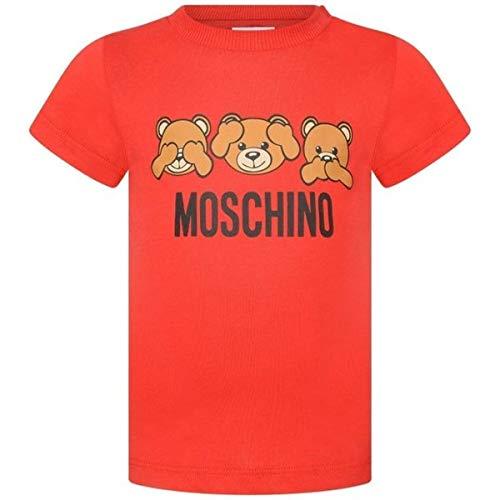 Moschino t-shirt, 9/12, rosso