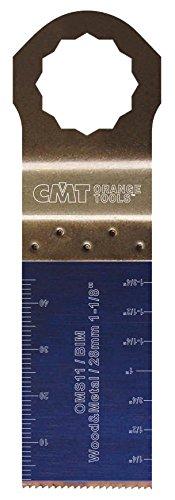 CMT : Lame bi-métal 28 mm plongeante et de coupe à ras / bois - métaux ( supercut - vecturo )