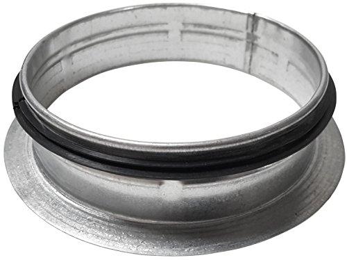 Intelmann Rosette Ø 160 mm Bundkragen, Flansch für Rohr -
