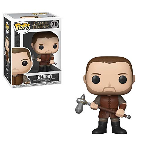 LAST LEVEL- Funko Juego De Tronos Baratheon Figura Pop Game of Thrones: GENDRY, Multicolor, Talla única (FFK34620)