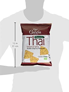 R W Garcia Thai Sweet & Spicy Organic Tortilla Chips With Flaxseed, 200g 10