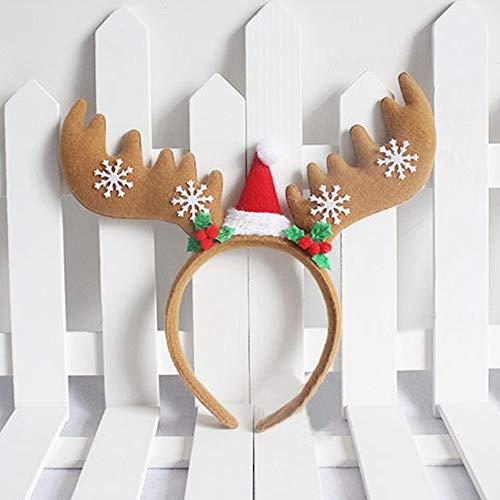 aarband Bogen Stirnband Tiara Party Dekorationen Snow Head Hoop Haarbänder (C) ()