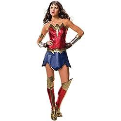 Justice League Adult Deluxe Wonder Woman Fancy dress costume Large