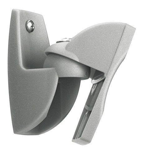 Vogel's VLB 500 S Lautsprecher-Wandhalterung, schwenkbar, max. 5 kg, 2 Halterungen, Silber