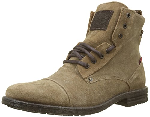 Levi\'s Herren Emerson Biker Boots, Braun (Medium Brown 27), 41 EU
