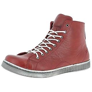 Andrea Conti Damen 0341500 Hohe Sneaker Rot (Chili 583) 39 EU