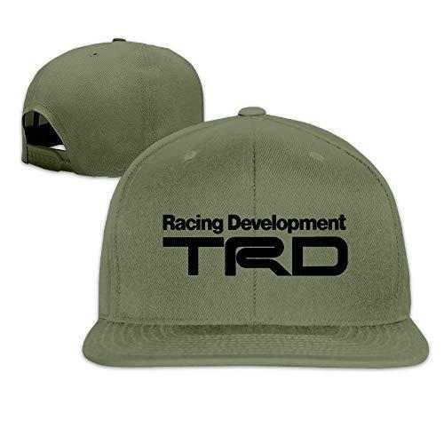 Nifdhkw Racing Development TRD Peaked Snapback Gorra de béisbol Sombrero de ala Plana Multicolor35