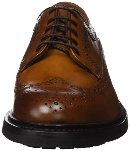 Lottusse Herren A2618 Brogues Braun (Touche L Honey)