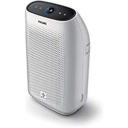 Philips AC1215/10 Purificatore d'Aria con Tecnologia VitalShield IPS e Filtro Nanoprotect, Bianco