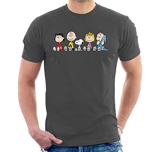 Mens Peanut (Peanuts The Gang Sit Down Men's T-Shirt)