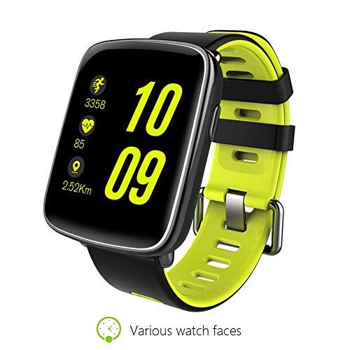 """Huang Dog-shop Kingwear GV68 3G SmartWatch - Inteligente Reloj Teléfono 1.54\"""" TFT Pantalla Táctil MTK2502C Soporte SIM Tarjeta con Corazón Tasa Llamada Notificación Podómetro Alarma Monitor De Sueño"""