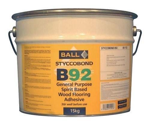 F Ball B92 15kg Wood Flooring Adhesive by F Ball