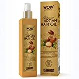 WOW Pure Cold Pressed Moroccan Argan Hair Oil - No Mineral Oil