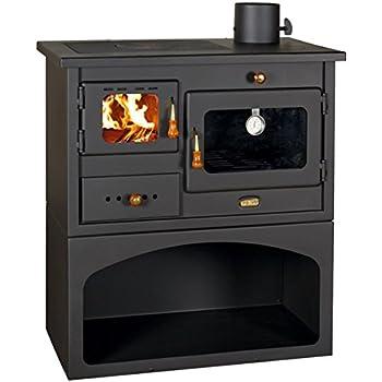 Relativ Holz Verbrennung Herd 10 kW Gusseisen Top Holzofen Hölzerner YW97