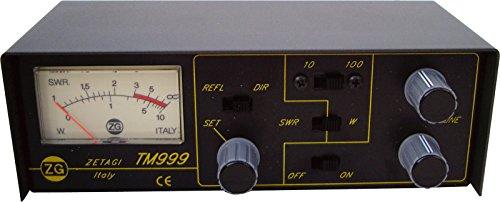 ZETAGI tm-999SWR & Power Meter CB Ham Radio TM 999 Meter Ham Radio