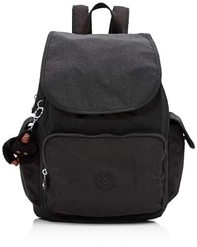 Kipling Damen City Pack Rucksack, Schwarz (True Black), 32x37x18.5 cm