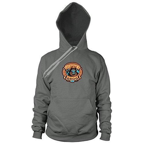 LeChuck's Grog - Herren Hooded Sweater, Größe: M, Farbe: (Kostüme Remake)