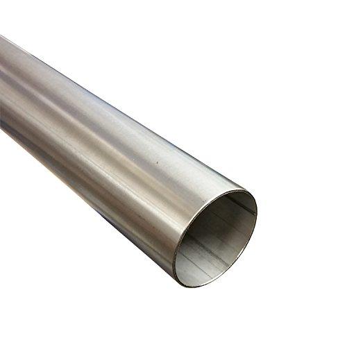 Tubo de acero inoxidable 50mm de diámetro x 500mm (0,5m) V2A Tubo...
