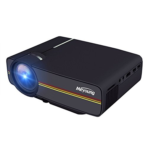 Askdasu Mini Projector Home Theater HD Movie Video Projectors portable projector Display for Home Theater Entertainment