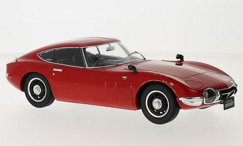 toyota-2000gt-rouge-1967-voiture-miniature-miniature-deja-montee-triple-9-collection-118