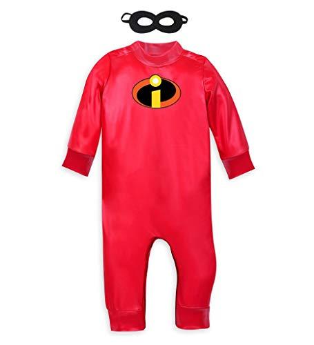 Jack Kleinkind Kostüm - DMMDHR Halloween Kostüm Baby Jack Jack Kostüm Halloween Kostüm Mr. Incredible 2 Overall Kostüm Kleinkinder Cosplay, 18M