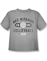 Top Gun - Juvy Nas Miramar Volleyball T-Shirt In Heather
