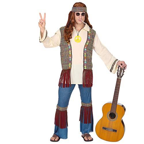 Widmann - Erwachsenenkostüm Hippie Mann