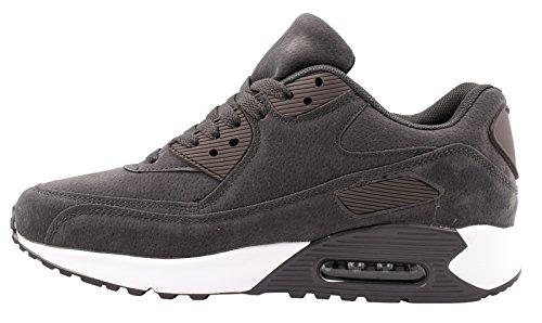 Elara Trendige Unisex Sneaker | Damen Herren Kinder Sport Laufschuhe | Turnschuhe Grau 2 Basic Flair