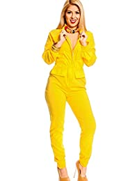 Amazon.co.uk: Yellow - Jumpsuits & Playsuits / Women: Clothing