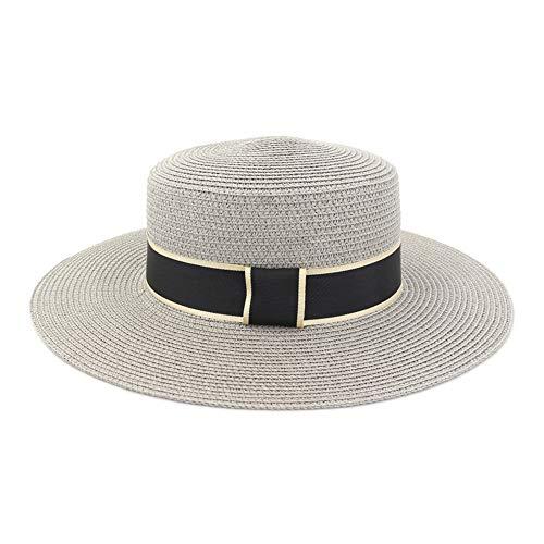HGYIO Sombrero de Playa británico de Primavera y Verano,...