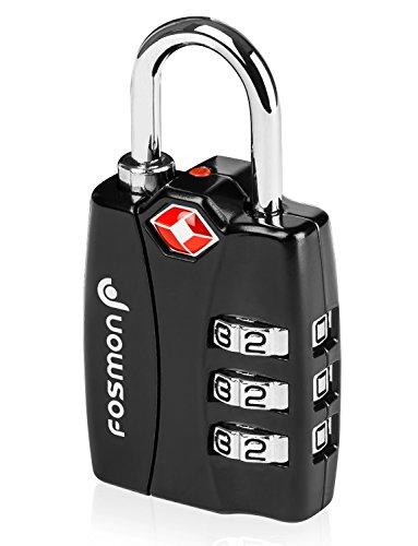TSA approuvé sécurité Bagages serrures, Fosmon [Lot...