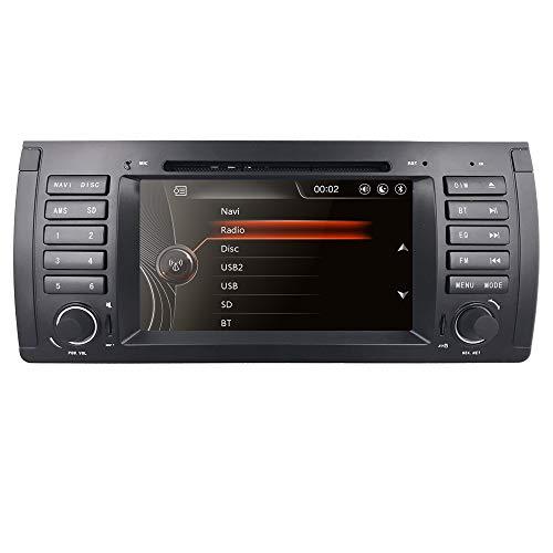 For BMW 5 Series E39 E53 X5 M5 Coche Radio Vehicle Single...