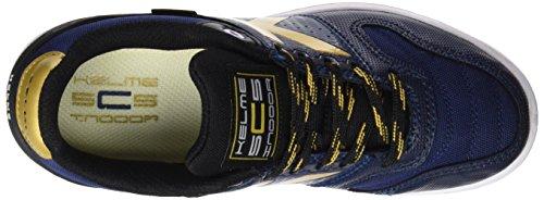 Kelme Intense 4.0, chaussures de football mixte adulte Bleu (indigo)