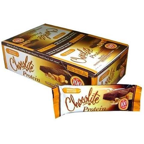 Healthsmart Foods - Chocolite Protein Bar Chocolate Peanut Butter -