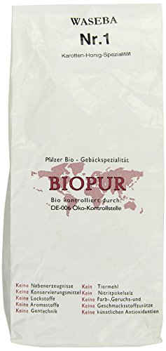 biopur-no-1-karotten-honig-spezialitat-400-g-bio-hundesnack-1er-pack-1-x-04-kg