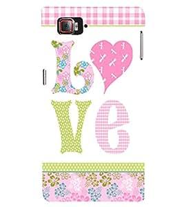 Love is My Boy Friend 3D Hard Polycarbonate Designer Back Case Cover for Lenovo Vibe Z2 Pro K920
