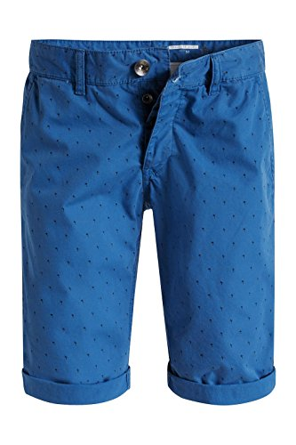 edc by ESPRIT Herren Shorts Blau (BRIGHT BLUE 410)