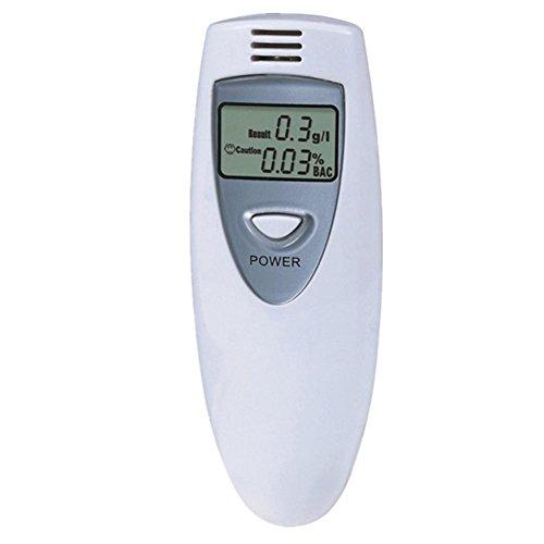 Preisvergleich Produktbild MTTLS Alkoholtester,Alkohol Tester, Digital Alkohol Breathalyzer Atem Tester Analyzer LCD-9DD2