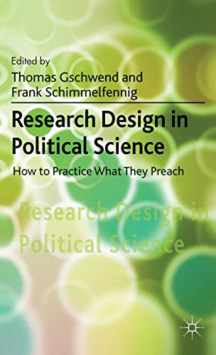 Research Design in Political Science: How to Practice what they Preach
