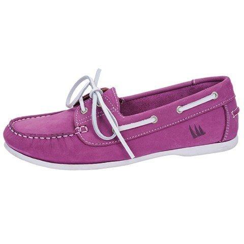 Quayside Milo, Chaussures Bateau Femme Rose - Pink (Fushia)