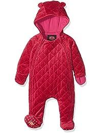 Juicy Couture Baby-Mädchen Schneeanzug Logo Vlr Script Quilted Snowsuit