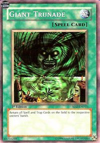 YuGiOh Zombie Madness Structure Deck Giant Trunade SD2-EN015 Common [Toy] [Toy]