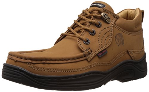 Redchief Men's Rust Leather  Boots - 6 UK  (RC1211 022) image