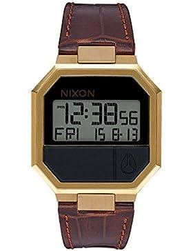 Nixon Unisex Erwachsene Armbanduhr Digital Leder A944-849-00