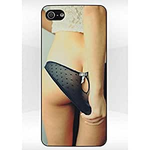 Coque Iphone 5/5S Sexy Girl 003 Bords Noirs