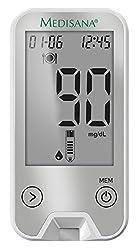 Medisana MediTouch 2 Blutzuckermessgerät mg/dL 79044, inkl. Starterset und Bluetooth Datenübertragung in die VitaDock+ App