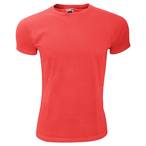 Fruit of the Loom Herren T-Shirt Light Graphite (Solid)