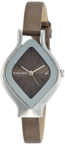 Fastrack Analog Brown Dial Women's Watch-NK6109SL02